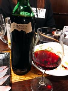 鳥取産ワインはお店からのサービス♡