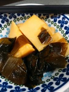 竹の子とワカメの炊いたん