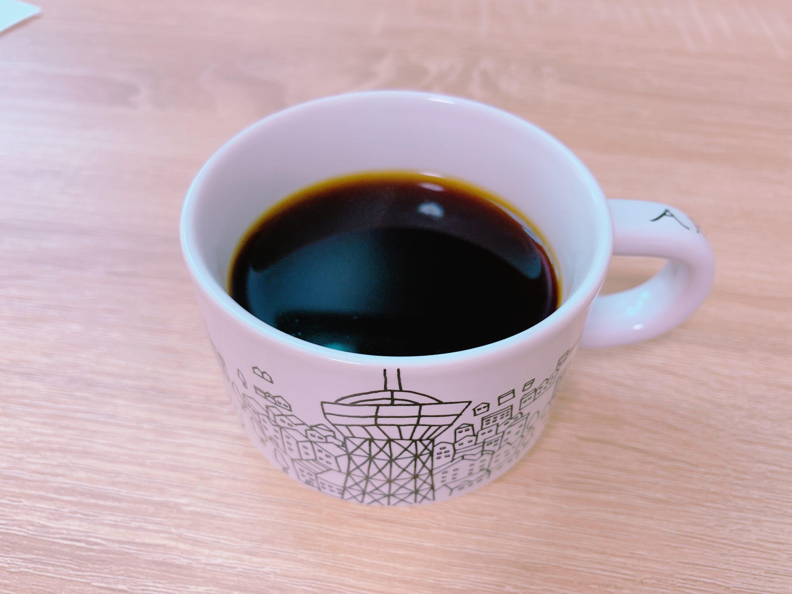 シロカの全自動コーヒーメーカー 「カフェばこ」で淹れたコーヒー